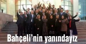 Konya İl Teşkilatı: Bahçeli'nin Yanındayız!