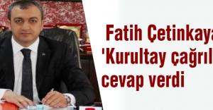 MHP Ankara İl Başkanından 'Kurultay Çağrılarına' Cevap
