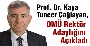 Prof. Dr. Çağlayan, OMÜ Rektör...
