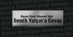 MHP#039;li Semih Yalçına Cevap!
