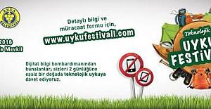 Doğada teknolojiden uzak 'Uyku Festivali'