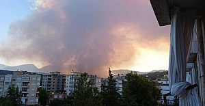 Kumluca yangını 25 saattir sürüyor