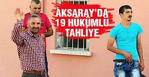 Aksaray'da cezaevinden Tahliyeler ...