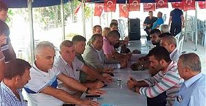 Adana'da MHP Şehit Ailelerini Ziyaret Etti