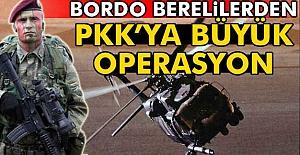 Bordo Berelilerden Büyük Operasyon