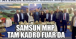 Samsun MHP Tarım Fuarında
