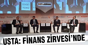 Samsun Milletvekili Usta; İstanbul Finans Zirvesi'nde...