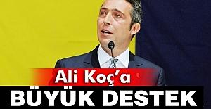 Ali Koç'a destek