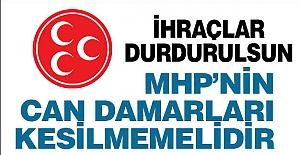 MHP'nin Can Damarları Kesilmemeli
