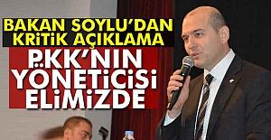 Soylu;  PKK'nın Üst Düzey Yöneticisi Elimizde