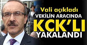 Vekilin Aracında KCK'lı Yakalandı