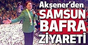 Meral Akşener#39;den Samsun- Bafra...