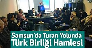 Samsun#039;da Turan Yolunda Türk...