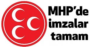 Anayasa Teklifi İçin MHP'de imzalar tamamlandı