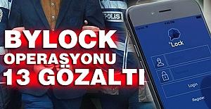 Aydın'da ByLock operasyonunda 13 gözaltı