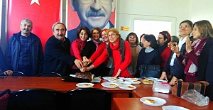 CHP Atakum teşkilatından kutlama