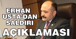 Erhan Usta, İstanbul Beşiktaş Saldırısıyla İlgili Açıklama Yaptı