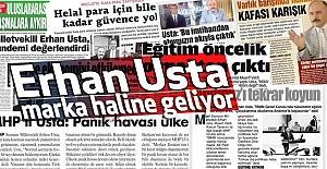 Erhan Usta, Marka Haline Geliyor