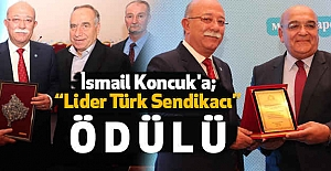 İsmail Koncuk#39;a Lider Türk...