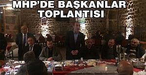 MHP'de İlçe Başkanları Toplantıları Devam Ediyor