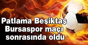 Saldırı, Beşiktaş - Bursaspor Maçı Sonrasında Oldu