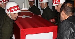 Şehidin cenazesi,  Gaziantep'e Getirildi