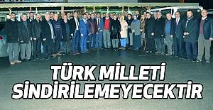 Taner Tekin: Türk Milleti Sindirilemeyecektir