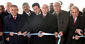 Vezirköprü'de Çok Programlı Anadolu Lisesi Törenle Açıldı