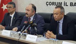 Erhan Usta; Çorumlular Borçludur...