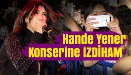 Hande Yener izdiham yarattı