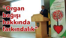Samsun İl Sağlık Müdürlüğü organ bağış eğitimi