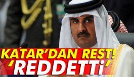 Katar, talep listesini reddetti