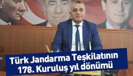 MHP Adana İl Başkanı Duran; Jandarma vazgeçilmez konumdadır