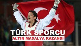 Türk Sporcu Tatar Askari, altın madalya kazandı