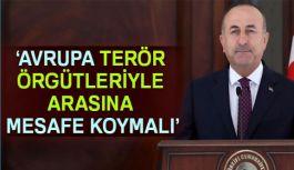 """""""Avrupa Terör Örgütleriyle Arasına Mesafe Koymalı"""""""