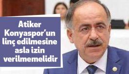 MHP'li Kalaycı; Atiker Konyaspor'un Aldığı Cezayı TBMM'ne Taşıdı