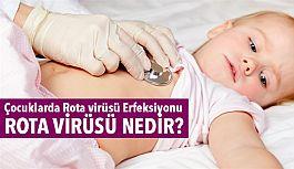 Çocuklarda Rota virüsü Erfeksiyonu; Rota virüsü Nedir?
