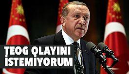 Cumhurbaşkanı Erdoğan; TEOG Sınavını Yanlış Buluyorum