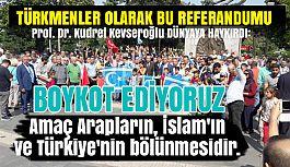 Prof. Dr. Kevseroğlu, Samsun'dan Tüm Dünyaya Bir Kez Daha Haykırdı!