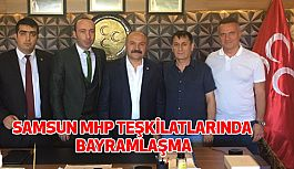 Samsun MHP Teşkilatlarında Bayramlaşma Gerçekleştirildi