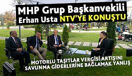 Erhan Usta, NTV'de Sorulara Cevap Verdi
