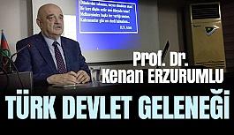 """Samsun Türk Ocağı'nda """"Türk Devlet Geleneği"""" Konuşuldu"""