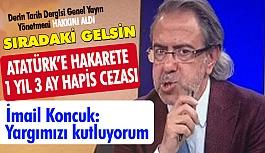 Atatürk'e Hakarete 1 Yıl 3 Ay Hapis Cezası