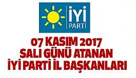 İYİ Parti  31 Kurucu İl Başkanı Görevlendirdi (Atama Listesi)