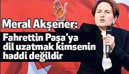 Meral Akşener'den Arap Bakan'a Sert Tepki!