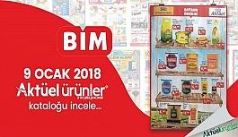 Bim Aktüel Ürünler Kataloğu - 9 Ocak 2018 İndirimli Bim Market Ürünleri