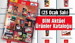 BİM Aktüel Ürünler Kataloğu (23 Ocak Salı)