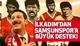 İlkadım'dan Samsunspor'a Büyük Destek!