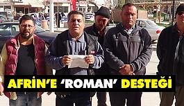 Roman vatandaşlardan Mehmetçiğe destek