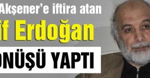 Akşener'e İftira Atan Latif Erdoğan Kıvırdı